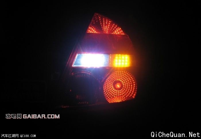 福美来二代升级尾灯的倒车灯及转向灯