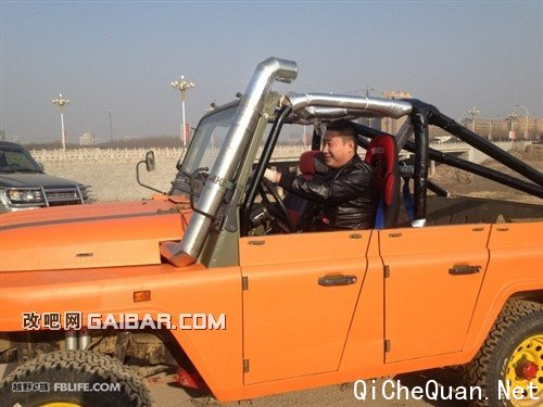 我为越野狂 北京吉普2020改装 汽车圈高清图片