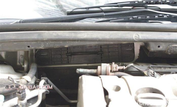 标致307更换空调滤芯和进气空滤