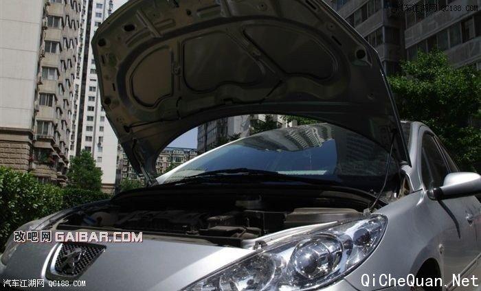 坚定diy 标致307更换空调滤芯和进气空滤 汽车圈 高清图片