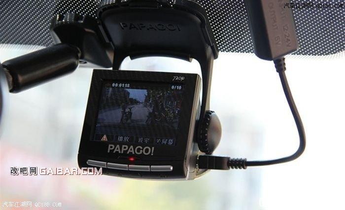 1.6l新福克斯安装行车记录仪