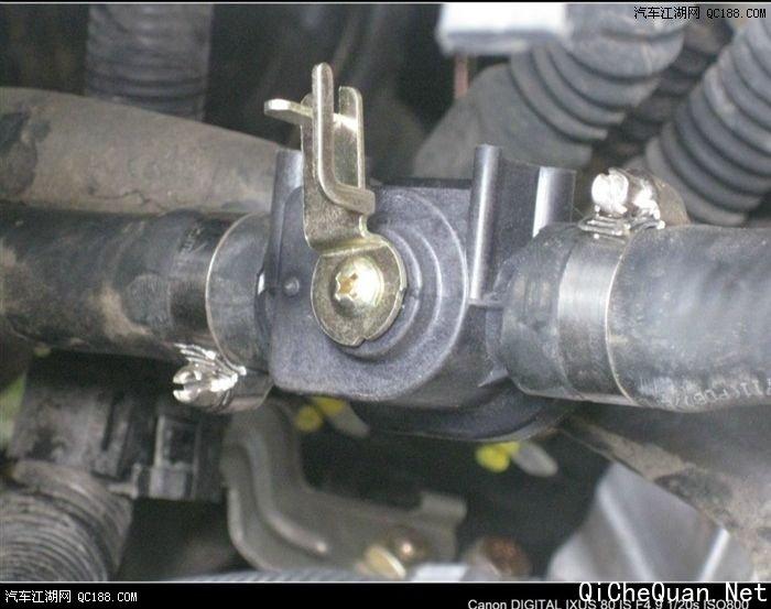 洗车机油封更换图解