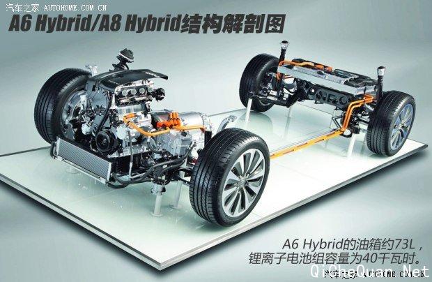 去年3月份,我在深圳试驾了全新奥迪A6L车型,当时新车足以媲美旗舰级A8L的空间与车内配置给我留下了深刻印象。一年零三个月后,我又一次接到了奥迪的邀请,前往美丽的古城丽江,试驾一款与众不同的新车——奥迪A6 Hybrid。是的,你没有看错,这回没有L,却多了Hybrid,嗯……这似乎代表着什么?  从目前奥迪品牌的外观设计理念来看,A6 Hybrid依然是使用了比较保守的方式,在传统汽油车型的基础上加入不同的动力组合来满足市场的需求。这与日系厂家不断推陈