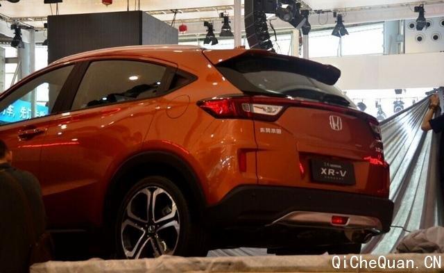 曝东风本田小型SUV实车 或命名为XR V