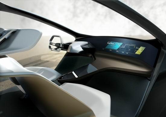 以数字化定义未来汽车内饰设计 bmw i未来概念座舱即将在2017亚洲消费