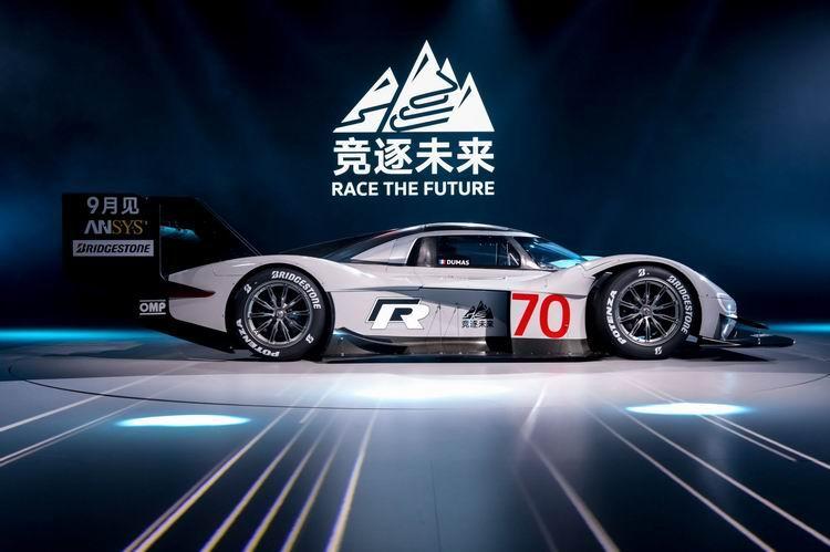 大众汽车品牌屡创纪录的纯电动赛车id. r迎接中国挑战